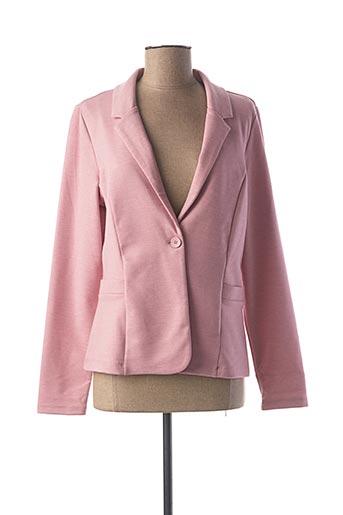 Veste chic / Blazer rose STREET ONE pour femme