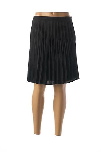 Jupe courte noir ARELINE pour femme