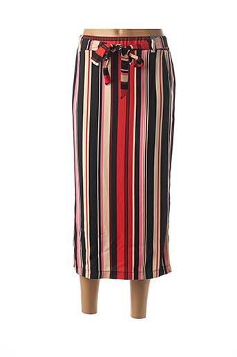 Jupe longue rouge STREET ONE pour femme