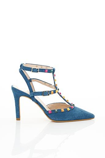 Escarpins bleu LODI pour femme