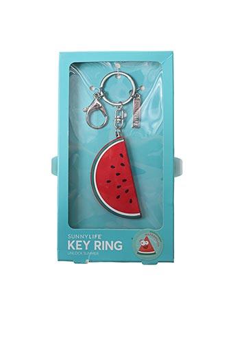 Porte-clé rouge SUNNYLIFE pour unisexe