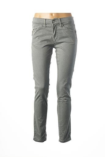 Pantalon casual gris DESGASTE pour femme