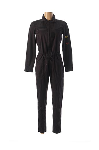 Combi-pantalon noir DDP pour femme