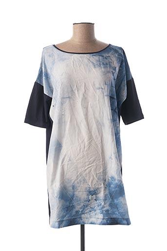 Robe courte bleu IKKS pour femme