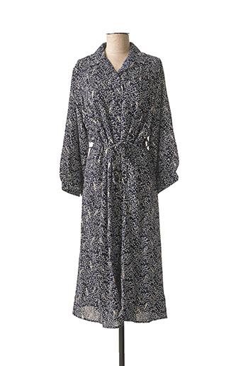 Robe longue bleu CHRISTY pour femme
