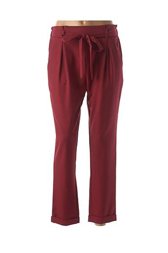 Pantalon casual rouge EMMA & ELLA pour femme