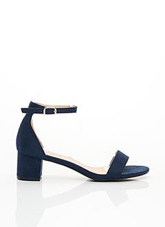 Sandales/Nu pieds bleu LILY SHOES pour femme