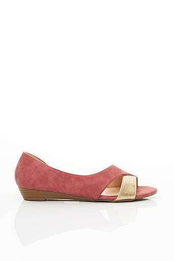 Sandales/Nu pieds rouge EMELLA pour femme