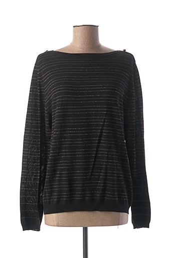 T-shirt manches longues noir SO SOON pour femme