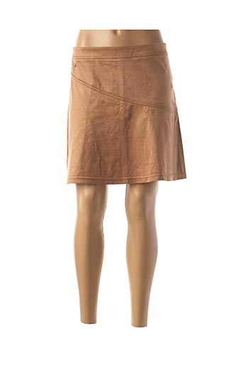 Jupe courte beige STREET ONE pour femme