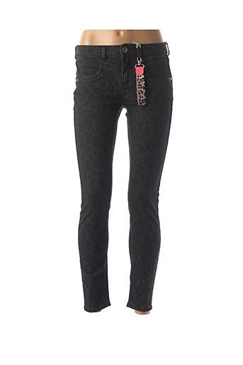 Pantalon casual noir STREET ONE pour femme