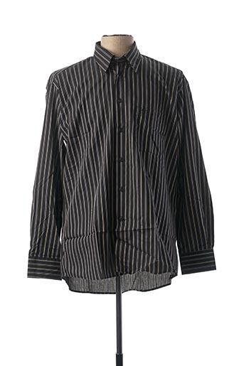 Chemise manches longues noir BANDE ORIGINALE pour homme