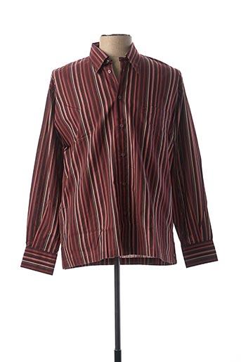 Chemise manches longues rouge BANDE ORIGINALE pour homme