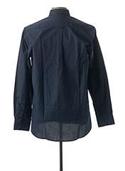 Chemise manches longues bleu BANDE ORIGINALE pour homme seconde vue