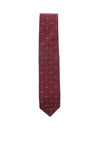 Cravate rouge ZINGARO pour homme