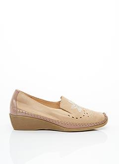 Chaussures de confort beige LUXAT pour femme