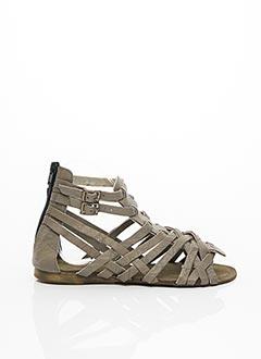 Sandales/Nu pieds beige KOAH pour femme