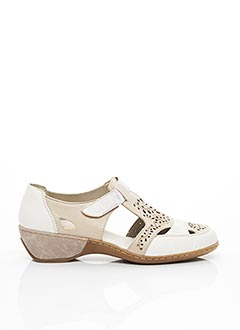 Sandales/Nu pieds beige RIEKER pour femme