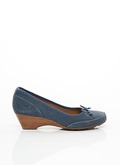 Sandales/Nu pieds bleu CLARKS pour femme