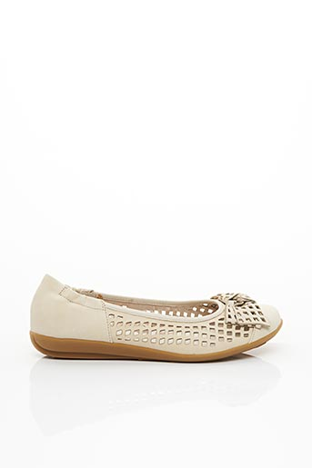 Ballerines beige FUGITIVE BY FRANCESCO ROSSI pour femme