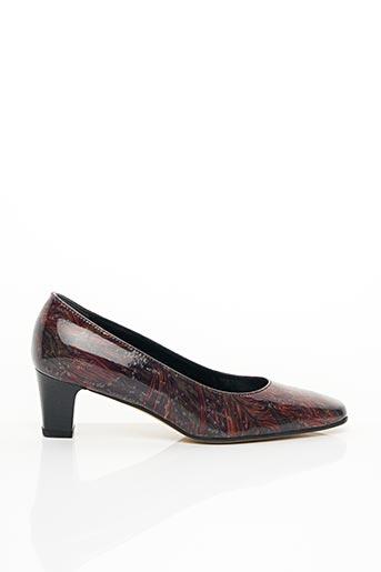 Escarpins rouge ALEXANDRIA pour femme
