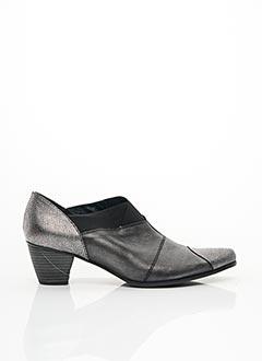 Bottines/Boots gris UN TOUR EN VILLE pour femme