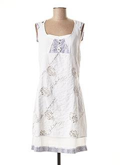Robe courte blanc ELISA CAVALETTI pour femme