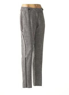 Pantalon casual noir EVA KAYAN pour femme