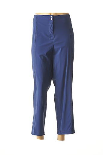 Pantalon casual bleu 3322 pour femme