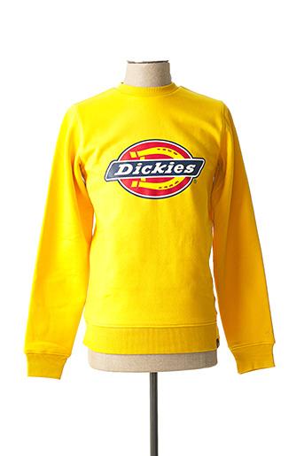 Sweat-shirt jaune DICKIES pour homme