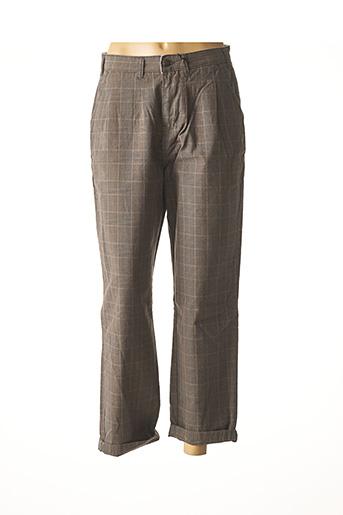 Pantalon 7/8 marron DICKIES pour femme
