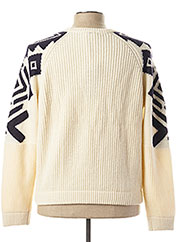 Pull col rond beige OXBOW pour homme seconde vue