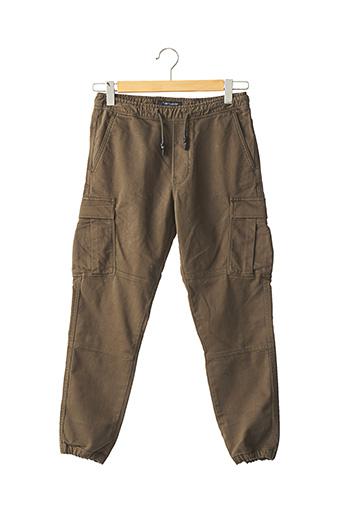 Pantalon casual vert TEDDY SMITH pour enfant