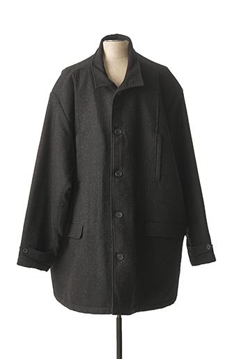Manteau long noir NOTHING pour homme