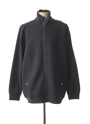 Veste casual bleu MAXFORT pour homme