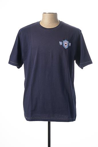 T-shirt manches courtes bleu RUCKFIELD pour homme
