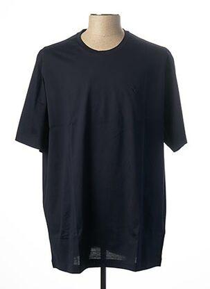 T-shirt manches courtes bleu MAXFORT pour homme