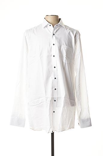 Chemise manches longues blanc CASAMODA pour homme