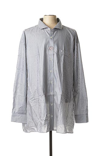 Chemise manches longues gris CASAMODA pour homme