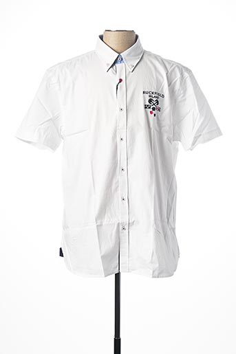 Chemise manches courtes blanc RUCKFIELD pour homme