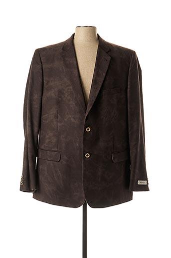 Veste chic / Blazer marron M.E.N.S pour homme