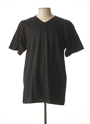 T-shirt manches courtes noir MAXFORT pour homme