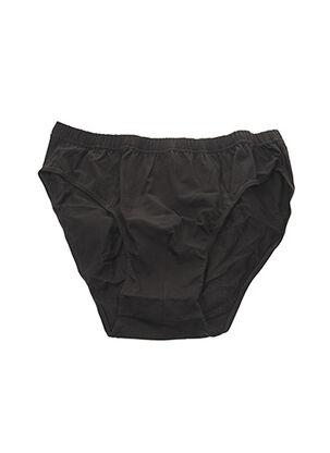 Slip/Culotte noir MAXFORT pour homme