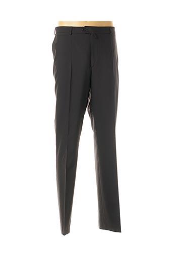 Pantalon chic noir KLOTZ pour homme