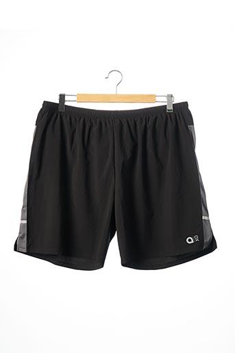 Short noir AERO pour homme