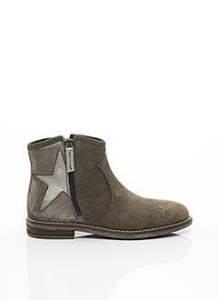 Bottines/Boots vert REQINS pour fille
