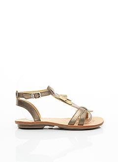 Sandales/Nu pieds marron MINIBEL pour fille