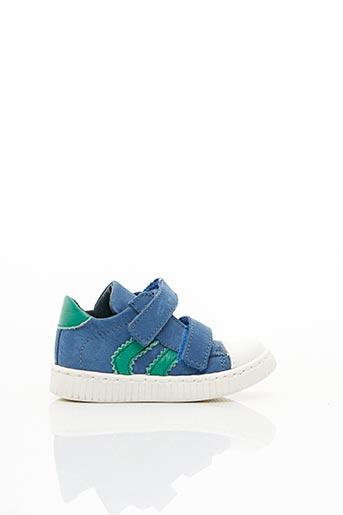 Baskets bleu LITTLE MARY pour garçon