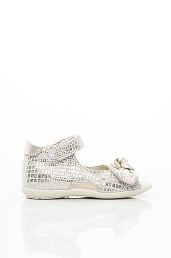 Sandales/Nu pieds gris LITTLE MARY pour fille