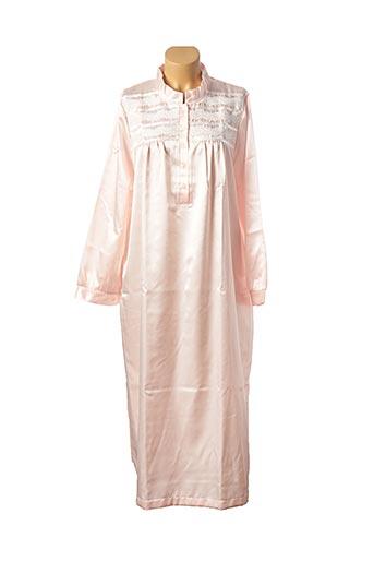 Chemise de nuit rose REGENCE pour femme